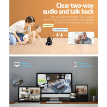 Load image into Gallery viewer, UL Tech 1080P WIreless IP Camera - Black