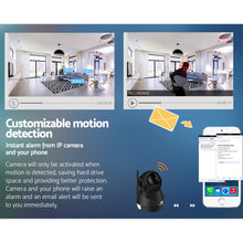 Load image into Gallery viewer, UL-TECH 1080P Wireless IP Camera CCTV Security System Baby Monitor Black