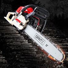 Load image into Gallery viewer, GIANTZ 75CC Petrol Commercial Chainsaw Chain Saw Bar E-Start Pruning