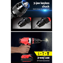 Load image into Gallery viewer, GIANTZ Hammer Drill Impact Cordless Brushless Drill Electric 20V Lithium