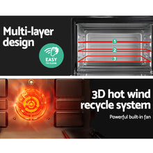 Load image into Gallery viewer, Devanti 34L Portable Convection Oven - Black