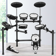 Load image into Gallery viewer, 8 Piece Electric Electronic Drum Kit Mesh Drums Set Pad Tom Midi For Kids Adults