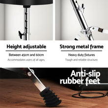 Load image into Gallery viewer, Adjustable Drum Stool Throne Stools Seat Chairs Chair Electric Guitar Piano Kits