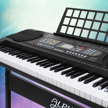 Load image into Gallery viewer, Alpha 61 Keys Electronic Piano Keyboard Electric Instrument Touch Sensitive Midi
