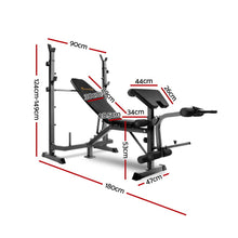 Load image into Gallery viewer, Everfit 9-In-1 Weight Bench Multi-Function Power Station Fitness Gym Equipment