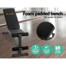 Load image into Gallery viewer, Everfit Adjustable FID Weight Bench Flat Incline Fitness Gym Equipment