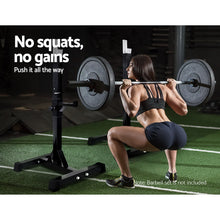 Load image into Gallery viewer, Everfit Squat Rack Bench Press Weight Lifting Stand