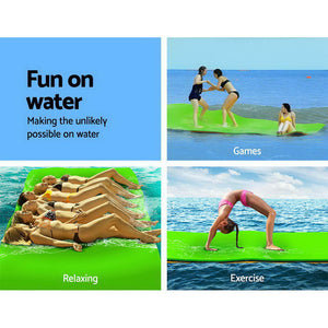 Weisshorn Floating Mat Water Slide Park Stand Up Paddle Pool Sea 270cm