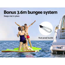 Load image into Gallery viewer, Weisshorn Floating Mat Water Slide Park Stand Up Paddle Pool Sea 270cm