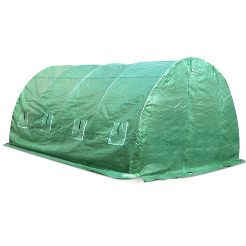 Greenfingers 4X3X2M Walk In Replacement Greenhouse PE Cover Shed - Cover Only