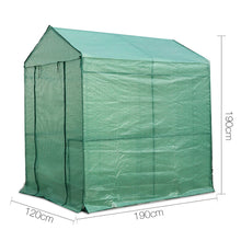 Load image into Gallery viewer, Greenfingers Greenhouse Garden Shed Green House 1.9X1.2M Storage Plant Lawn