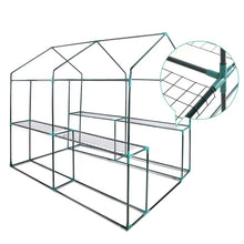 Load image into Gallery viewer, Greenfingers Greenhouse Garden Shed Green House 1.9X1.2M Storage Greenhouses Clear