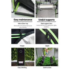 Load image into Gallery viewer, Greenfingers 1680D 1MX1MX2M Hydroponics Grow Tent Kits Hydroponic Grow System
