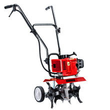 Load image into Gallery viewer, Giantz 88CC Petrol Garden Cultivator Tiller Rotary Hoe 24 Tine Rototiller