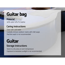 Load image into Gallery viewer, ALPHA 38 Inch Wooden Acoustic Guitar Blue