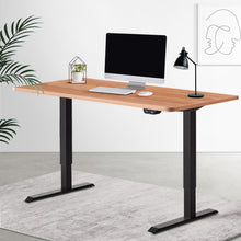 Load image into Gallery viewer, Artiss Standing Desk Sit Stand Table Riser Height Adjustable Motorised Electric Computer Laptop Table