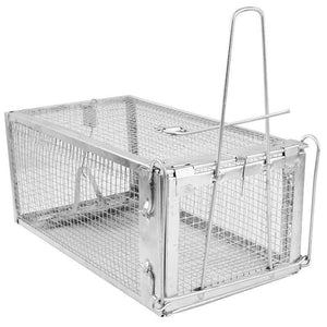 HOT SALE Animal Trap Steel Cage for Small Live Rodent Control Rat Mice Squirrel Mouse cage