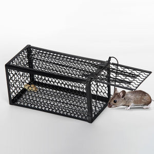 High Quality Hamster Rat Cage Mice Rodent Farm Pest Control Catch Trap  Home Mouse Hunting Cage