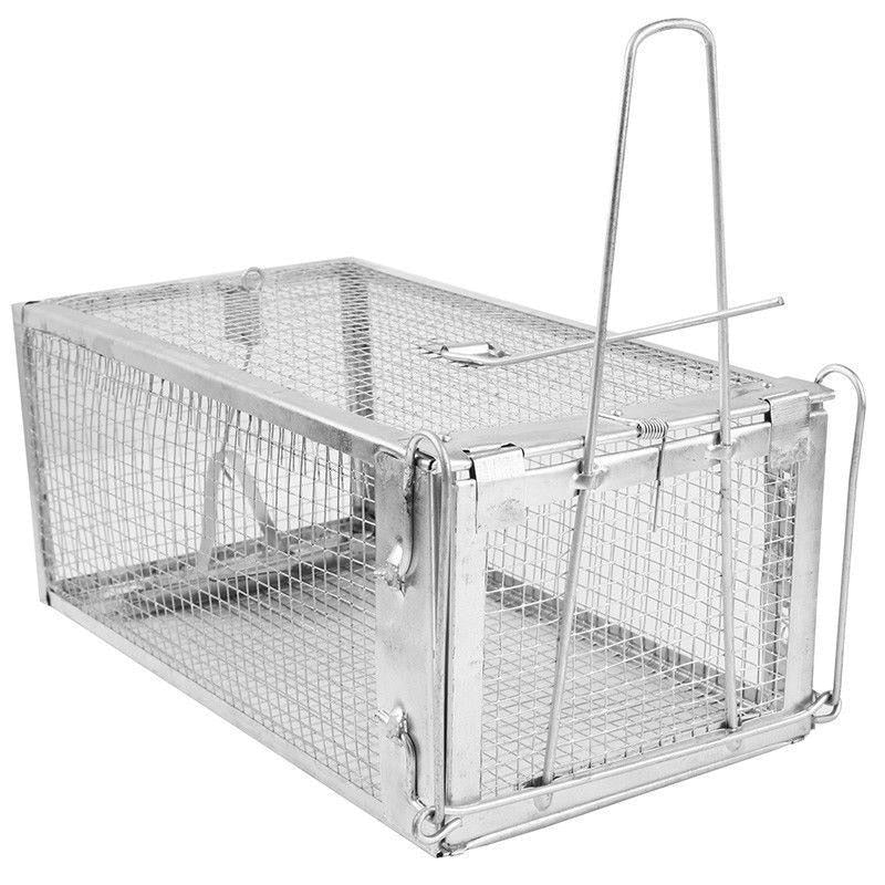 Hot Animal Trap Steel Cage for Small Live Rodent Control Rat Mice Squirrel Mouse cage