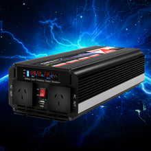 Load image into Gallery viewer, Giantz Power Inverter 2500W or 5000W Modified Sine Wave 12V-240V Camping Caravan