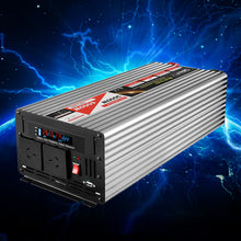 Load image into Gallery viewer, Giantz Power Inverter 3000W or 6000W Pure Sine Wave 12V-240V Camping Boat Caravan