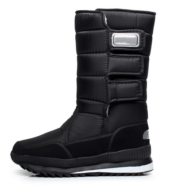 eb449807741 KUIDFAR men boots for winter waterproof safety shoes hunting boots  thickening thermal snow boots warm military work shoes