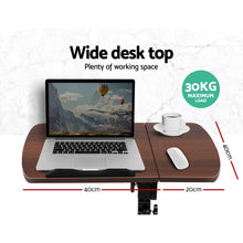 Load image into Gallery viewer, Adjustable Computer Stand - Walnut