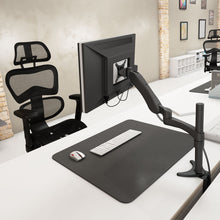 Load image into Gallery viewer, Iwell Monitor Arm Single DMA600 Adjustable Stand Gas Up To 32 Inch Screen Desk