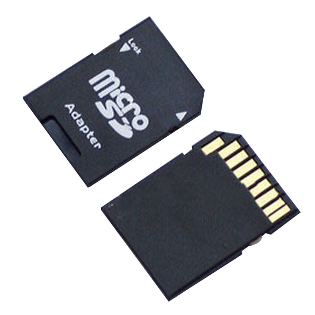 NOYOKERE 2PCS  Popular Micro SD TransFlash TF to SD SDHC Memory Card Adapter Convert into SD Card