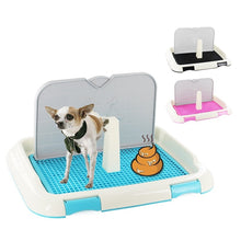 Load image into Gallery viewer, New Style Pet Dog Potty Litter Box Cat Toilet Open Small Corner Toilet Training Dogs Bedpan Arenero Gato Pet Clean Product
