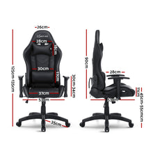 Load image into Gallery viewer, Artiss Gaming Office Chair RGB LED Lights Computer Desk Chair Home Work Chairs