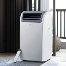 Load image into Gallery viewer, Devanti Portable Air Conditioner Cooling Mobile Fan Cooler Dehumidifier Window Kit White 3300W