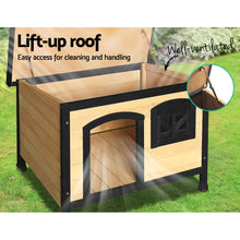 Load image into Gallery viewer, i.Pet Medium Wooden Pet Kennel