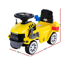 Load image into Gallery viewer, Keezi Kids Ride On Car w/ Building Blocks Toy Cars Engine Vehicle Truck Children