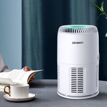 Load image into Gallery viewer, Devanti Air Purifier Desktop Purifiers HEPA Filter Home Freshener Carbon Ioniser