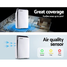 Load image into Gallery viewer, Devanti Air Purifier Purifiers HEPA Filter Home Freshener Carbon Ioniser Cleaner