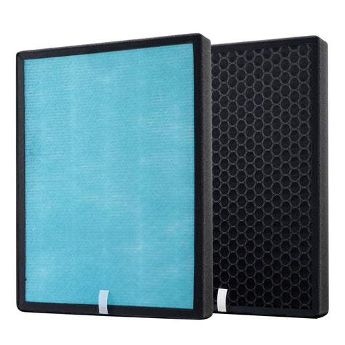 Devanti Replacement Filter Air Purifier HEPA Filters Carbon Layer