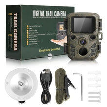 Load image into Gallery viewer, Photo-trap Thermal Imagers For Hunting Scout Mini Camera Chasse 12MP 1080P Night Vision Wildcats Hunting Camera Trap With LCD . Solar panel to match this camera is also available at extra cost