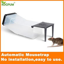 Load image into Gallery viewer, Reusable Mouse Cage Automatic Catch Rat Mice Mouse Trap Big Size Mousetrap Rats Killer Muizenval Rodent Catcher Pest Control