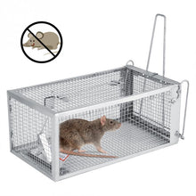 Load image into Gallery viewer, Reusable Rat Trap Heavy Duty Mouse Pest Animal Mice Hamster Cage Control Bait Rodent Repeller Catch MouseHamster Mouse Trap