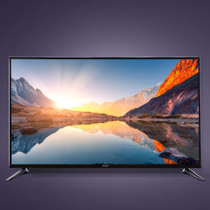 "Devanti Smart LED TV 43 Inch 43"" 4K UHD HDR LCD Slim Thin Screen Netflix YouTube"