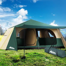 Load image into Gallery viewer, Weisshorn Instant Up Camping Tent 8 Person Pop up Tents Family Hiking Dome Camp