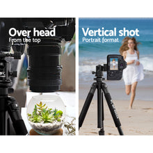 Load image into Gallery viewer, Weifeng 173cm Professional Ball Head Tripod Digital Camera