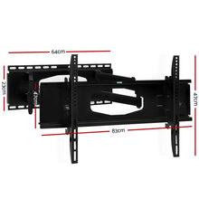Load image into Gallery viewer, Artiss TV Wall Mount Bracket Tilt Swivel Full Motion Flat Slim LED LCD 32 inch to 80 inch