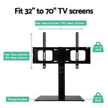 Load image into Gallery viewer, Artiss Table Top TV Swivel Mounted Stand