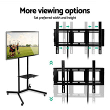Load image into Gallery viewer, Artiss TV Mount on Stand - Black