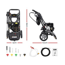 Load image into Gallery viewer, Giantz Petrol High Pressure Washer Gun Water Cleaner Gurney Pump 8HP 4800PSI