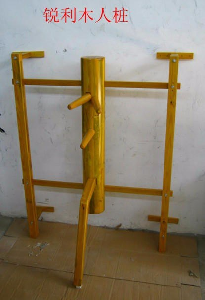 Wall Hung Elm Wing Chun Wooden Dummy, chinese kung fu adjustment wall  hanging durable wood dummy