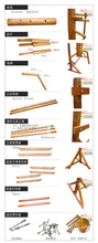 Load image into Gallery viewer, Wing Chun Mind Mook Jong, wooden dummy,Muk Yan Jong made of Solild Elm Wood