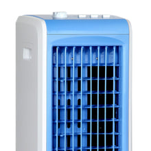 Load image into Gallery viewer, Devanti Portable Air Cooler and Humidifier Conditioner - White & Blue
